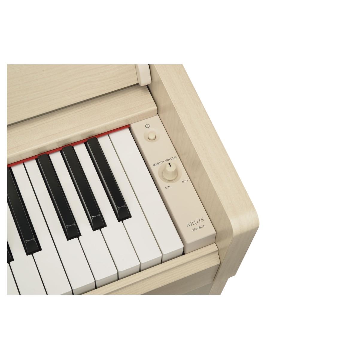yamaha ydp s34 digitalpiano wei e esche gear4music. Black Bedroom Furniture Sets. Home Design Ideas