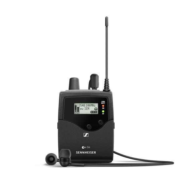 Sennheiser EK IEM G4 Wireless Receiver, Ch38 1