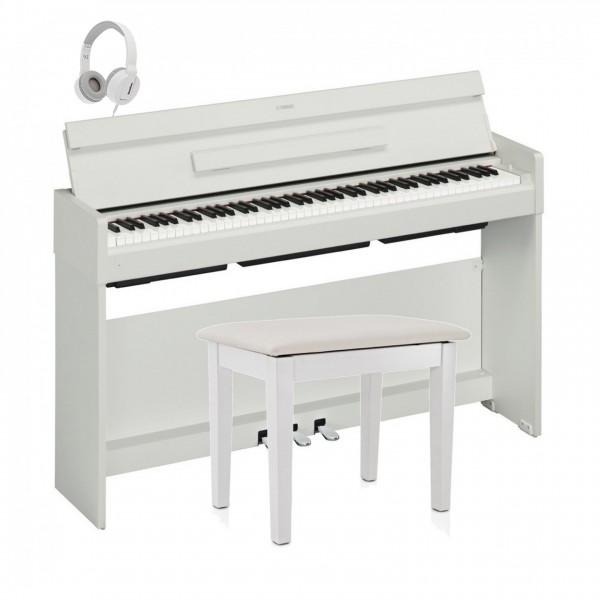 Yamaha YDP S34 Digital Piano Package, White
