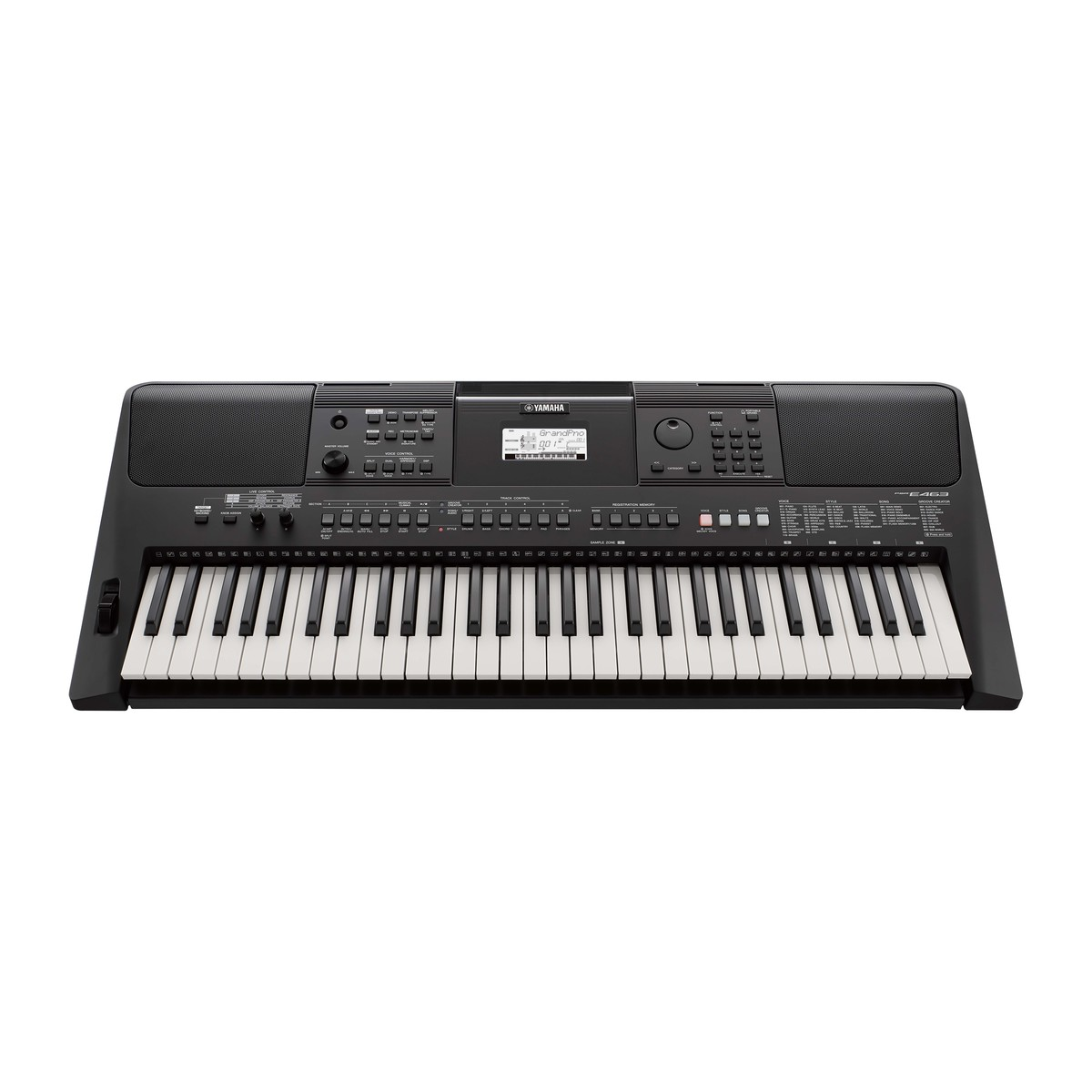 Yamaha psr e463 keyboard at gear4music for Yamaha credit application