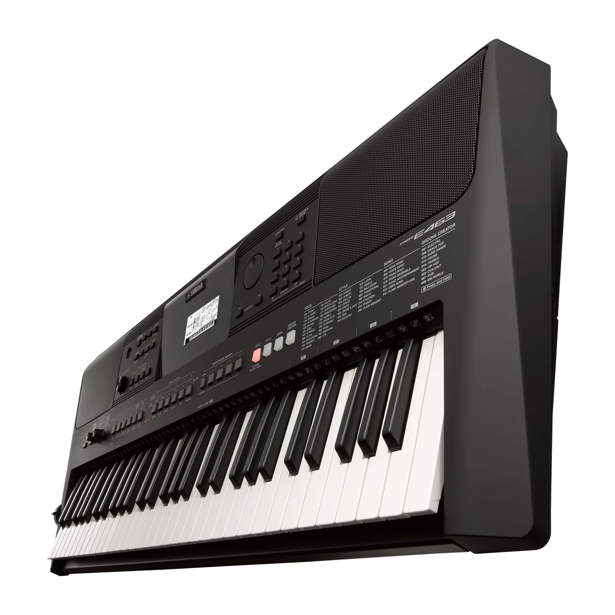 Yamaha psr e463 keyboard op for Yamaha credit application