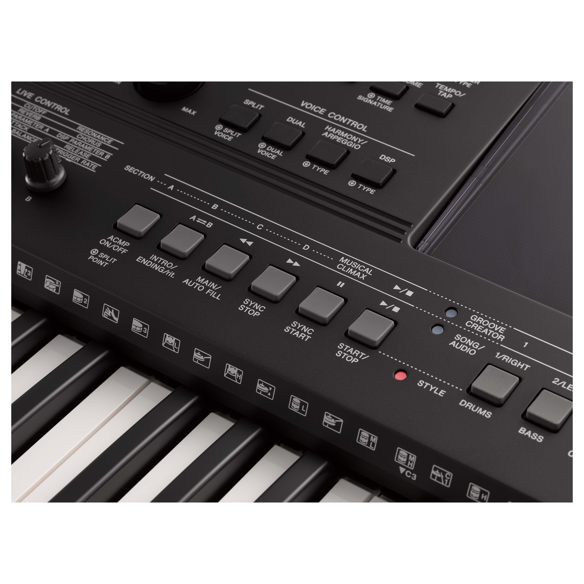 yamaha psr e463 keyboard at gear4music. Black Bedroom Furniture Sets. Home Design Ideas