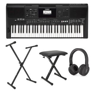 Yamaha PSR E463 Keyboard Pack