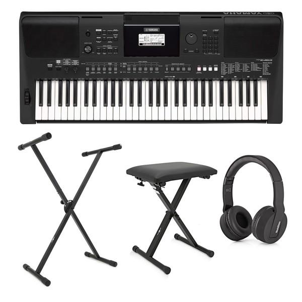 yamaha psr e463 keyboard pack at gear4music. Black Bedroom Furniture Sets. Home Design Ideas
