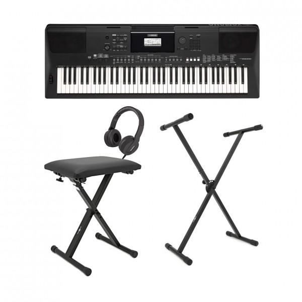 Yamaha PSR EW410 Digital Keyboard Pack