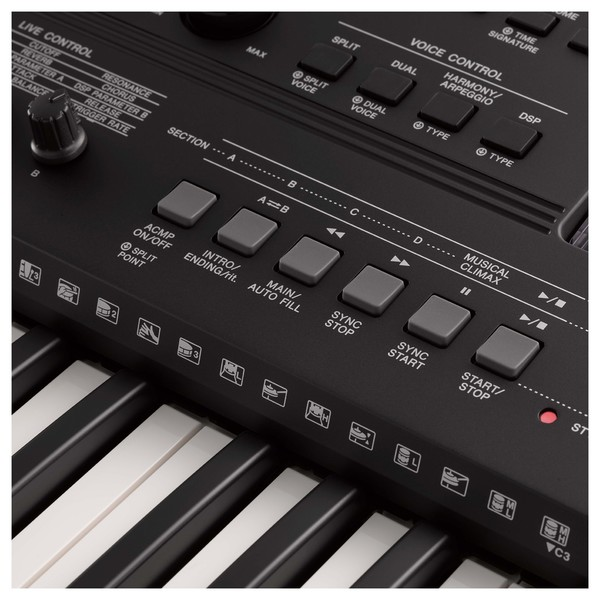 Yamaha PSR EW410 - Controls