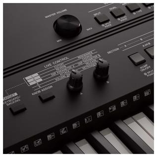 Yamaha PSR EW410 - Detail