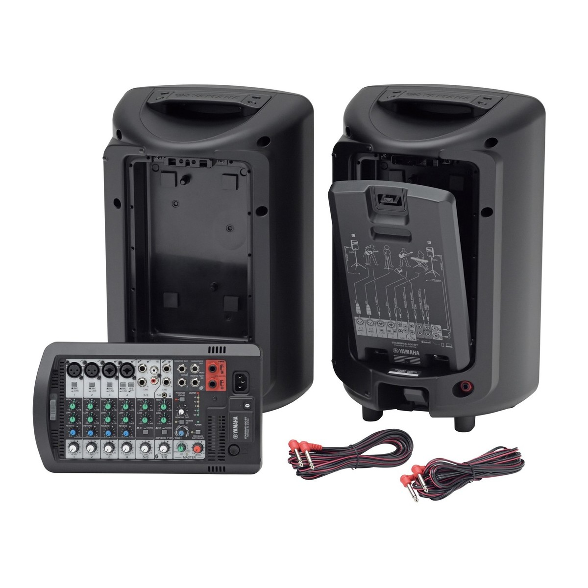 Yamaha Stagepas 400bt Portable Pa System At Gear4music