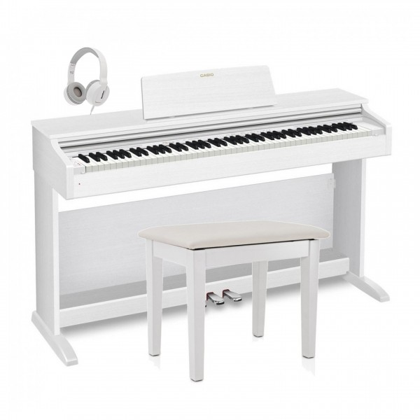 Casio Celviano AP 470 Digital Piano Package, White