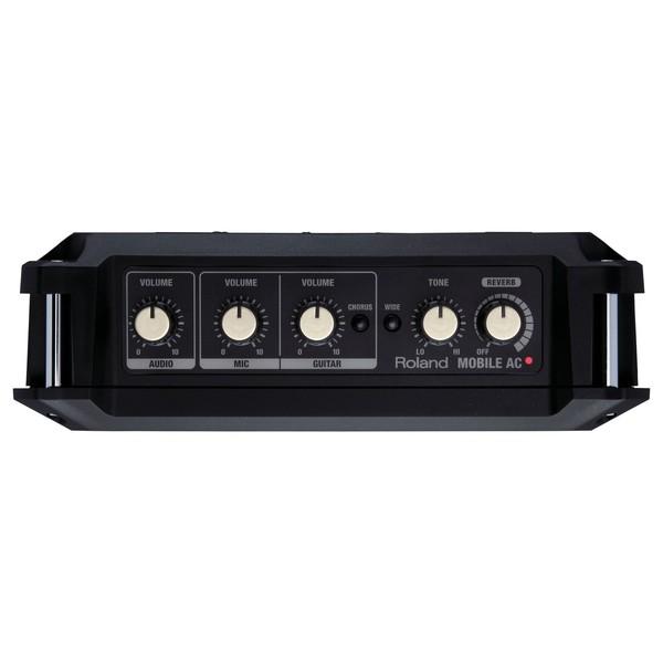 Roland MOBILE AC Acoustic Chorus Guitar Amp Control Panel