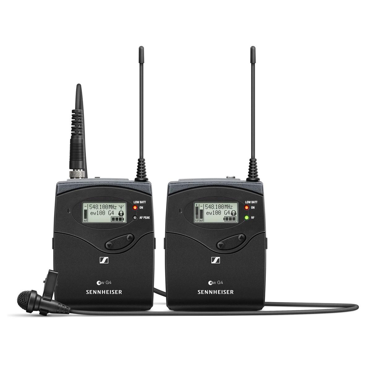 Sennheiser EW 112 P G4 Wireless Kamera Lavalier-Set mit mir 4, Ch38 ...
