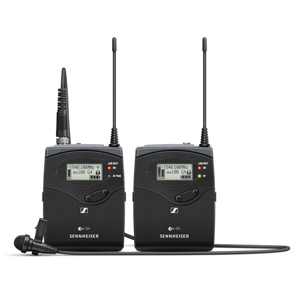Sennheiser EW 112 P G4 Wireless Camera Lavalier Set with ME 4, Ch70 - Main