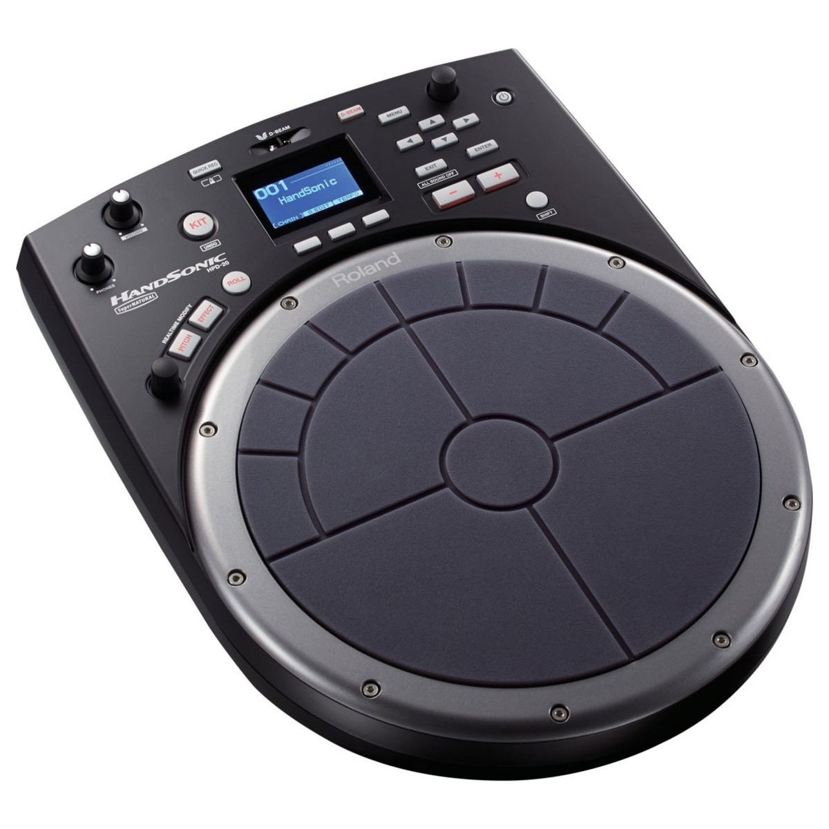 roland hpd 20 handsonic electronic percussion pad at gear4music. Black Bedroom Furniture Sets. Home Design Ideas