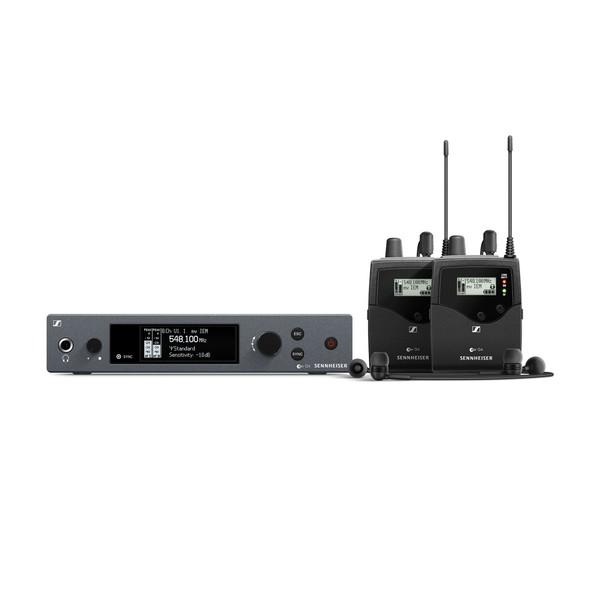 Sennheiser EW IEM G4 Wireless Twin In-Ear Monitor System, Ch70 1