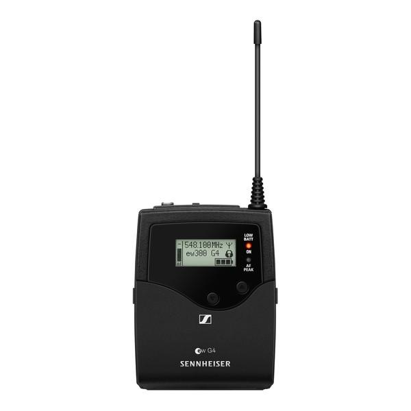 Sennheiser SK 300 G4-RC Bodypack Transmitter, Ch38 - Back