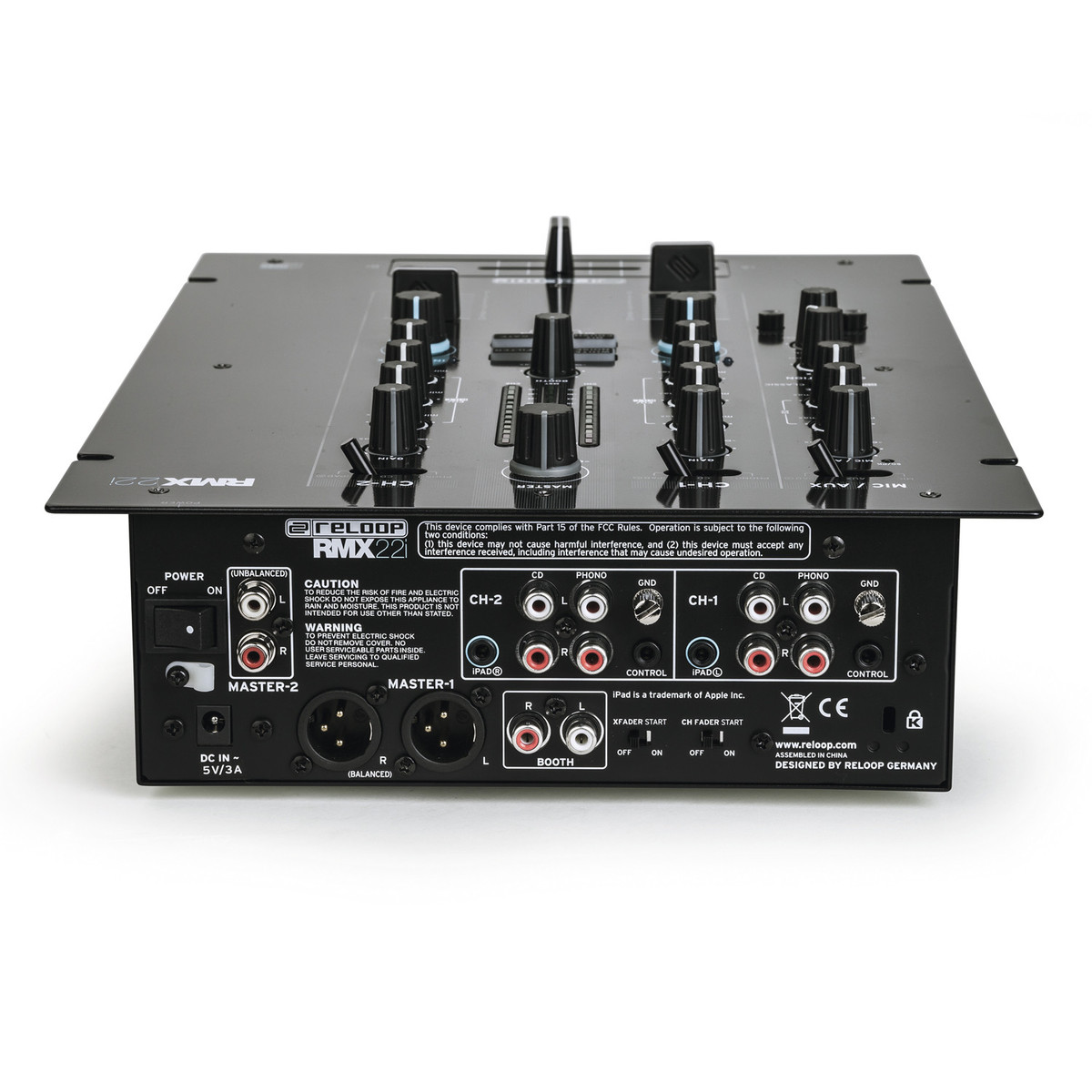 Reloop Rmx 22i 2 Channel Dj Mixer Box Opened At Gear4musiccom Stereo For Microphone With Channels
