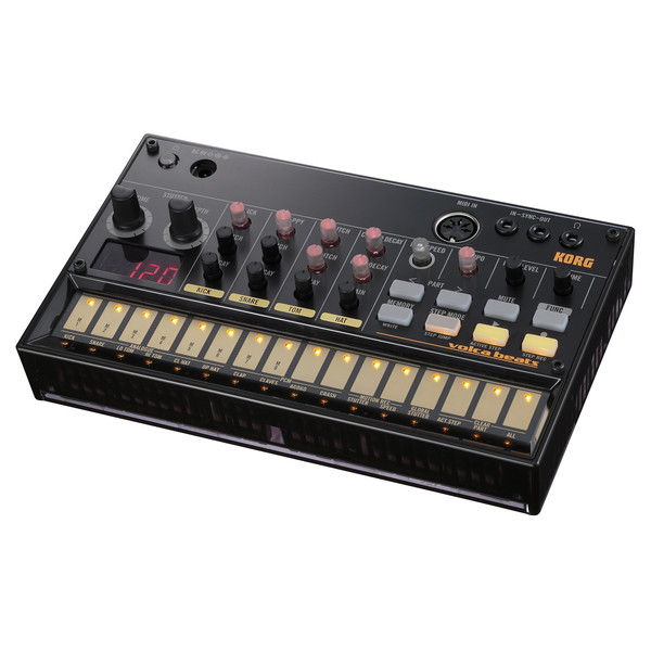 Korg Volca Beats Analog Rhythm Machine Box Opened At
