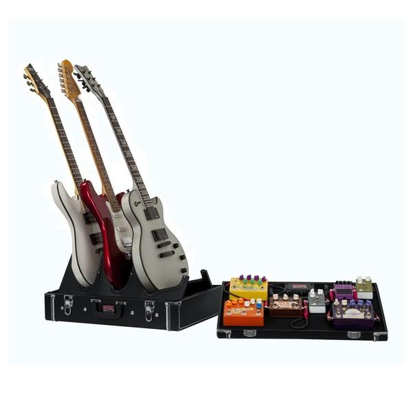 Gator GW-GIGBOXJR Pedal Board/Guitar Stand Case, Main Image