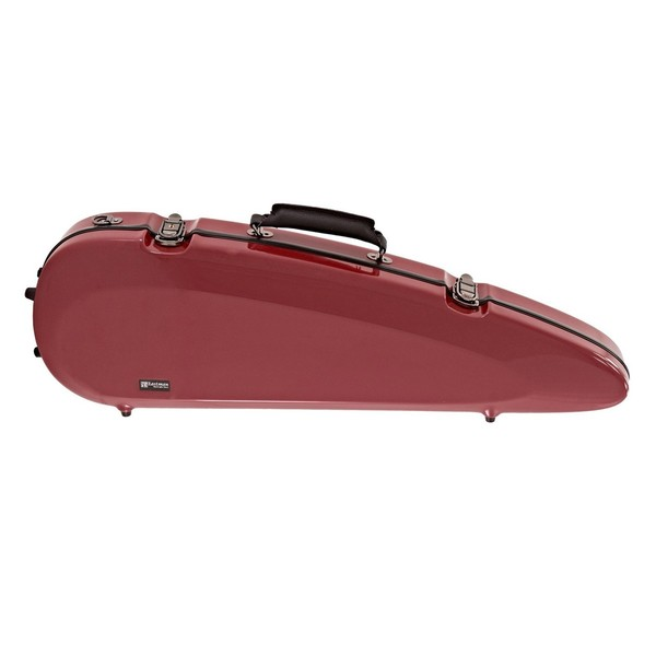 Sinfonica Rocket Violin Case, Cherry Red
