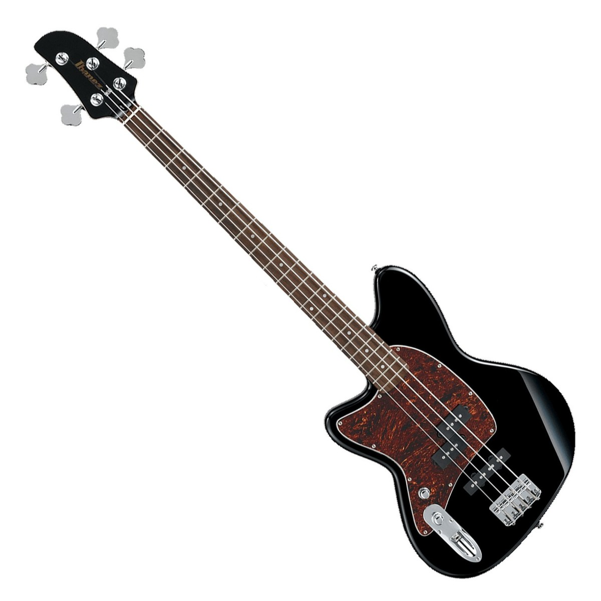 ibanez tmb100 talman bass left handed 2018 black at gear4music. Black Bedroom Furniture Sets. Home Design Ideas