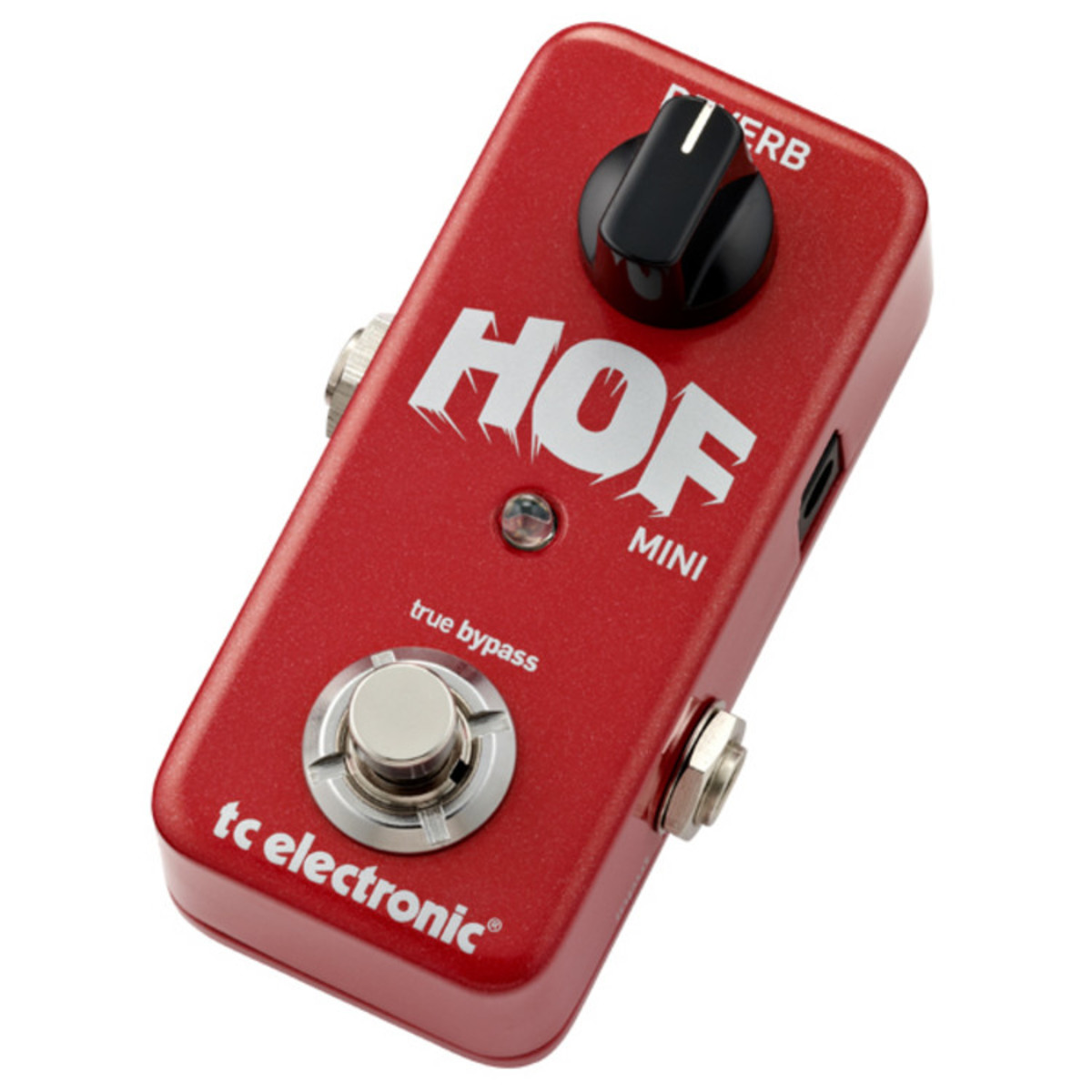 tc electronic hall of fame mini reverb guitar effects pedal box opened at gear4music. Black Bedroom Furniture Sets. Home Design Ideas