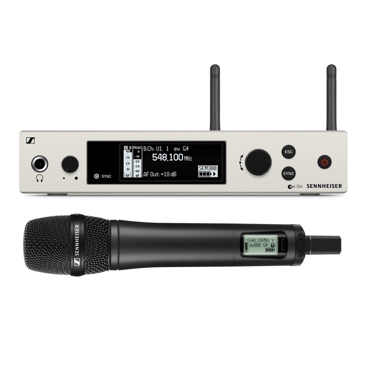 sennheiser ew 500 g4 wireless microphone system with 935 ch38 at gear4music. Black Bedroom Furniture Sets. Home Design Ideas