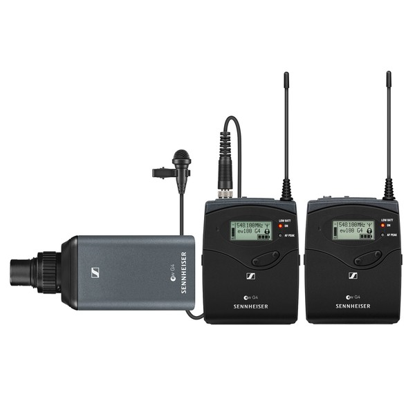 Sennheiser EW 100 ENG G4 Wireless Camera Lavalier, Ch38 - Main