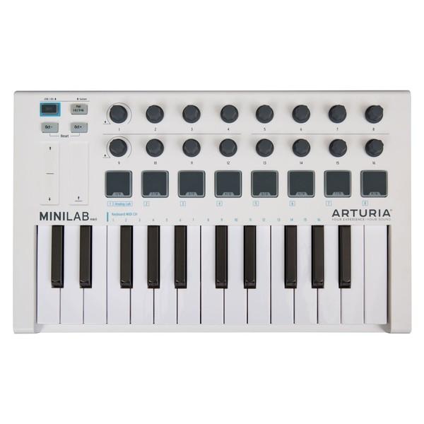 Arturia MiniLab Universal MKII MIDI Controller - Top