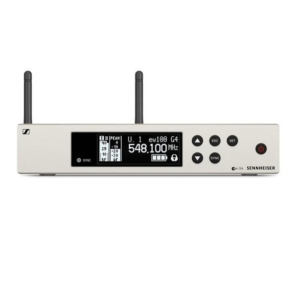 Sennheiser EM 100 G4 True Diversity Wireless Receiver, Ch38