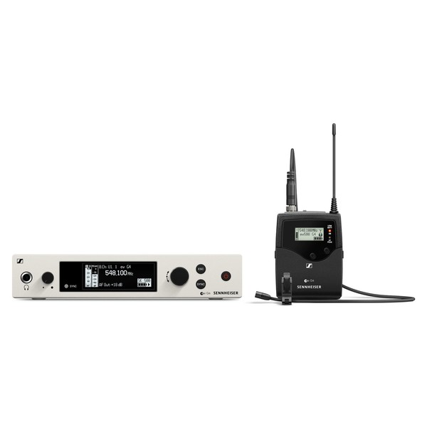 Sennheiser EW 500-G4 Wireless Microphone System with MKE 2, Ch38 - Bundle