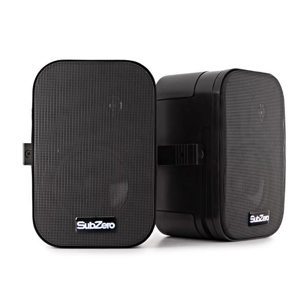 """SubZero SZS-P5Y 5"""" Passive Background Wall Speakers, Pair"""