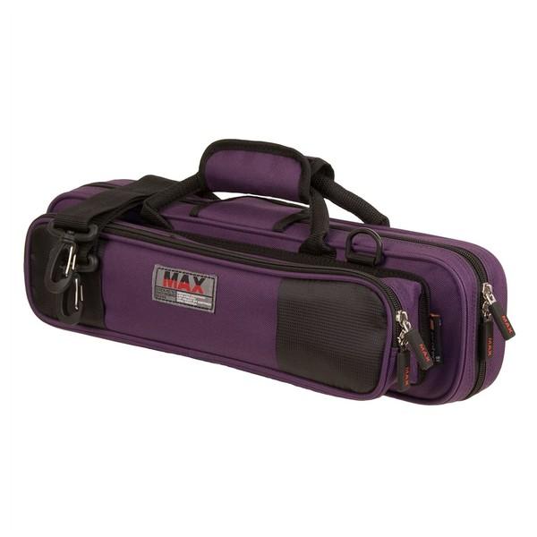 Protec Max Flute Case, C or B Foot, Purple