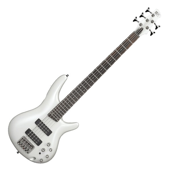 ibanez sr305e 5 string bass 2018 pearl white at gear4music. Black Bedroom Furniture Sets. Home Design Ideas