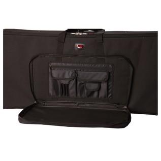 Gator GK-49 Keyboard Case, Front Storage Compartment