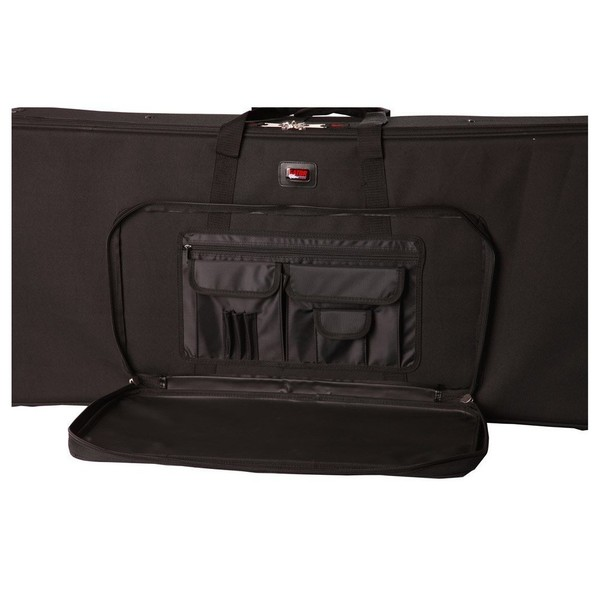 Gator GK-49 Keyboard Case, Front Storage Compartment