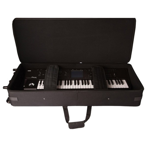 Gator GK-49 Rigid Keyboard Case, Open with Keyboard