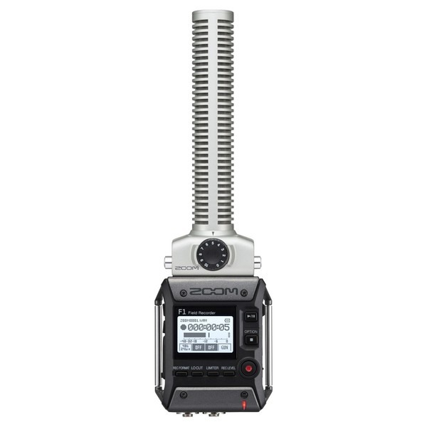 Zoom F1-SP Field Recorder with Shotgun Microphone - Main