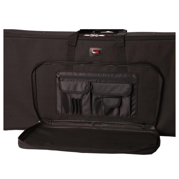 Gator GK-76-SLIM Keyboard Case, Storage Compartment