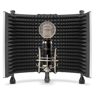 Sound Shield Reflection Filter - Inside With Mic