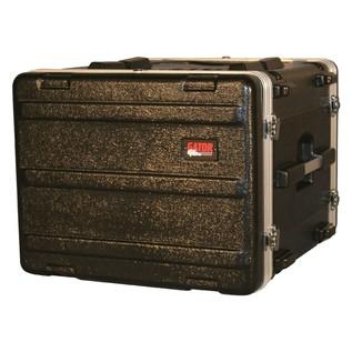 Gator GR-8L Lockable Moulded Rack Case, 8U, 19.25'' Depth 1