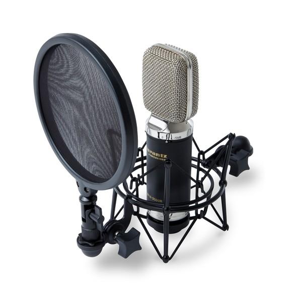 Marantz MPM3500R Ribbon Microphone - Angle