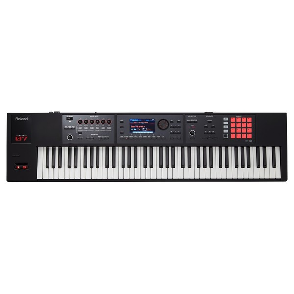 Roland FA-07 Music Workstation - Top