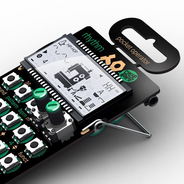 Teenage Engineering PO-12 Pocket Rhythm Synthesizer