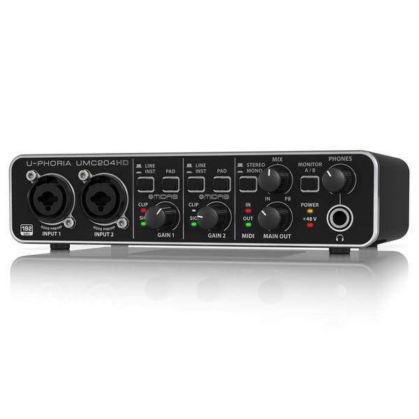 Behringer U-PHORIA UMC204HD USB Audio Interface