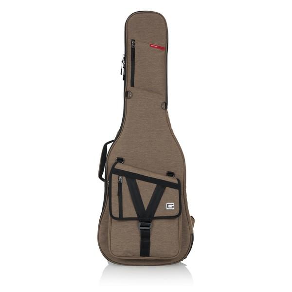 Gator GT-ELECTRIC-TAN Transit Series Electric Guitar Bag, Tan