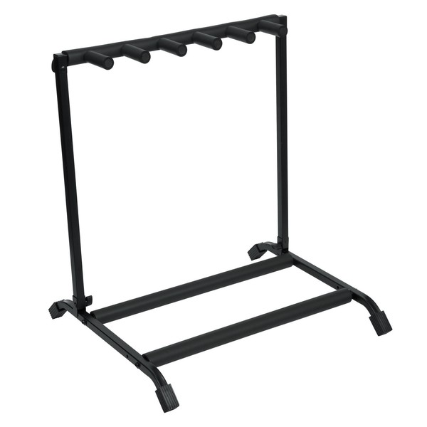Frameworks RI-GTR-RACK5 Rok-It Collapsible Guitar Rack For 5 Guitars 1
