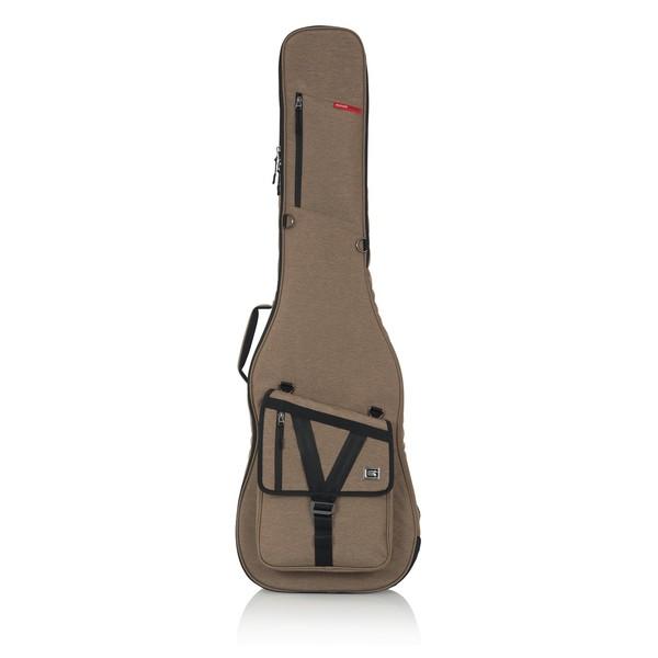 Gator GT-BASS-TAN Transit Series Bass Guitar Bag, Tan