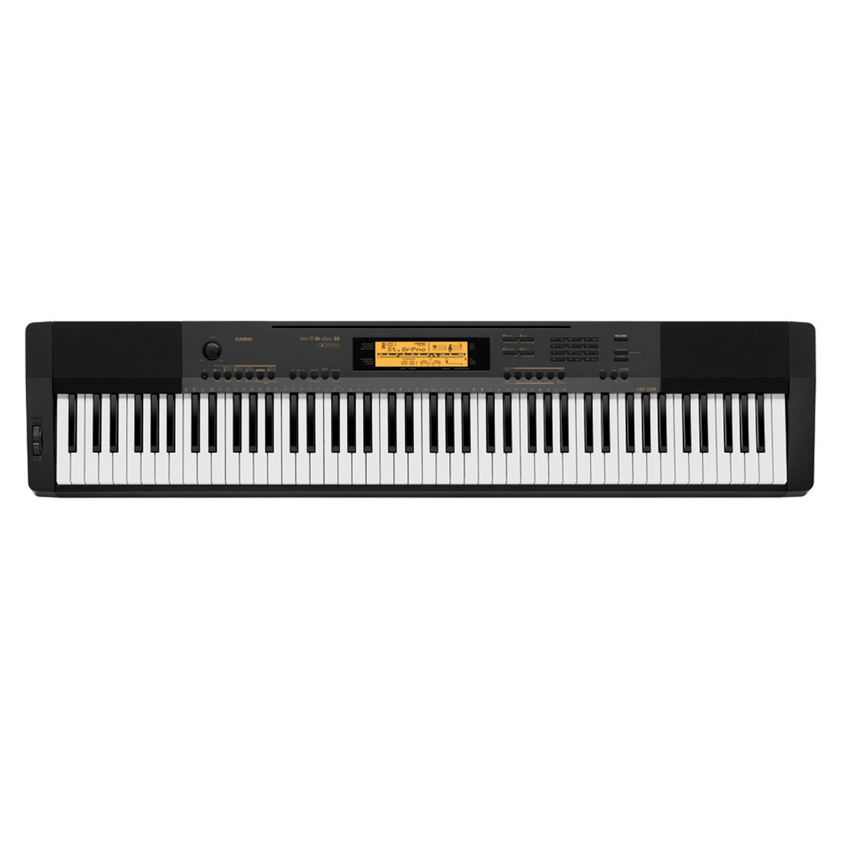 casio cdp 230r digital piano black box opened at gear4music. Black Bedroom Furniture Sets. Home Design Ideas