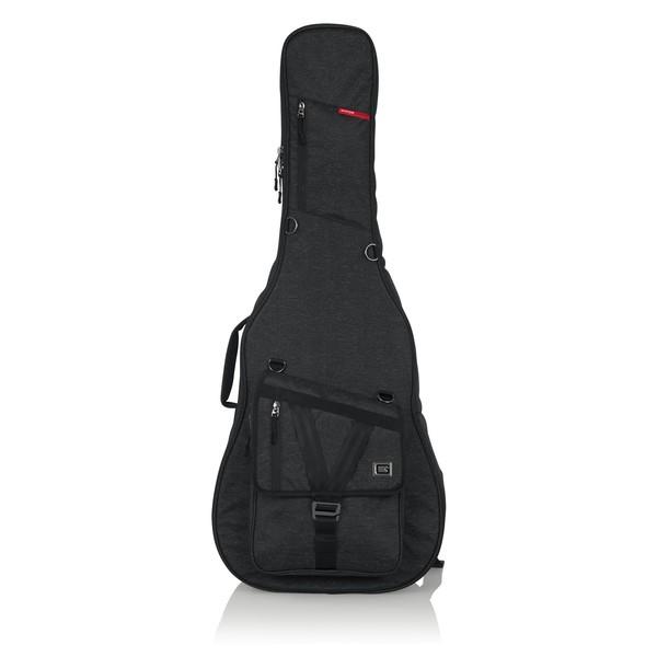 Gator GT-ACOUSTIC-BLK Transit Series Acoustic Guitar Bag, Black