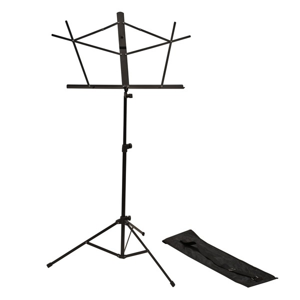 Frameworks RI-MUSICSTD1 Folding Music Stand With Bag 1